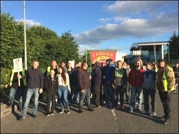 RF Brookes strike, July 2016