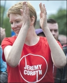 Jeremy Corbyn supporter, photo Paul Mattsson