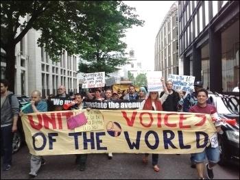 Wood Street cleaners' strike, 21 June 2016