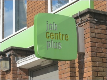 Job Centre Plus, photo by Helen Cobain (Creative Commons)