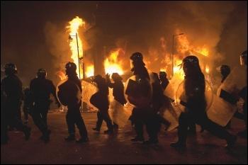 London riots 2011, photo by Paul Mattsson