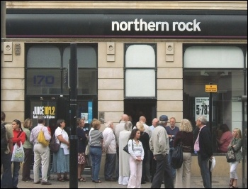 Northern Rock was the first UK bank to suffer a run in 150 years during the last financial crash which started in 2007, photo by Dominic Alves (Creative Commons)