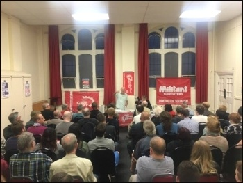 Coventry Socialist Party meeting, Peter Taaffe speaking, 25.8.16