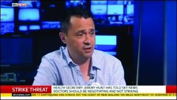 Rob Williams on Sky News