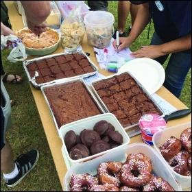 The bake-off photo Helen Pattison