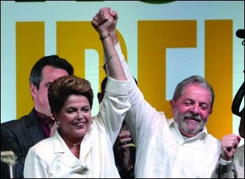 Rousseff and Lula in happier times photo Fabio Rodrigues Pozzebom/Agencia Brasil/Creative Commons