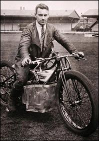Clem Beckett in 1929