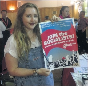 Join the Socialists!, photo Helen Pattison