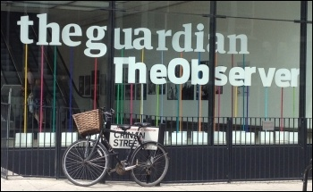 Guardian HQ in London - the paper campaigns against zero-hour contracts while using them for its own staff, photo by Bryantbob (Creative Commons)