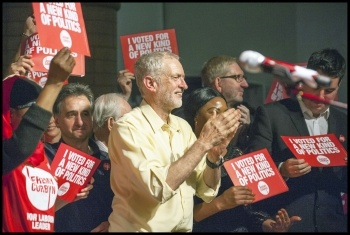Jeremy Corbyn Sep 15 and Grantham Sep 16
