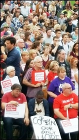 Jeremy Corbyn rally in Grantham, September 2016