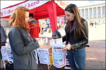 Fighting fund helps pay for leaflets and other campaigning material photo Samantha Smith