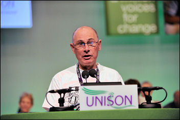 Unison conference 2009: Roger Bannister, photo Paul Mattsson