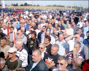 Lindsey Oil Refinery solidarity strikes, photo Jim Reeves