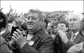 Liverpool City Council demonstration, November 1983, photo Paul Traynor