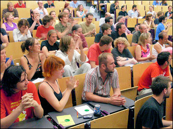 European CWI school, photo Bob Severn