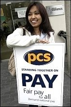 PCS workers strike , photo Paul Mattsson