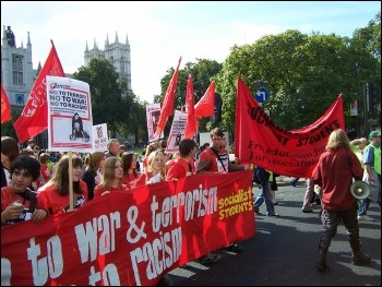 Anti-war demonstration Seotember 05, photo Alison Hill