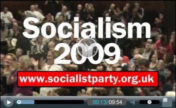 Socialism 2009 video