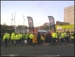 Brighton bin workers GMB picket line , photo Sean Figg
