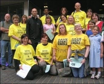 Lewisham edutcation protest, photo Martin Powell-Davies