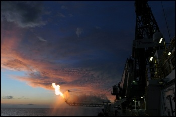Deepwater Horizon Flaring Operation photo