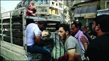 Civilian casualties in Aleppo photo Voice of America/Creative Commons