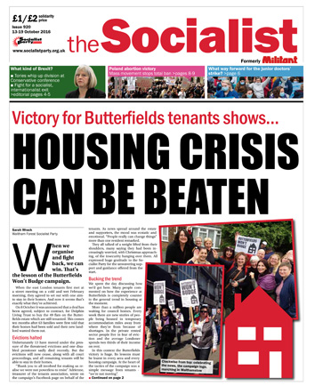 The Socialist issue 920