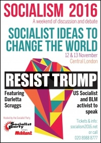 Resist Trump! Come to Socialism 2016