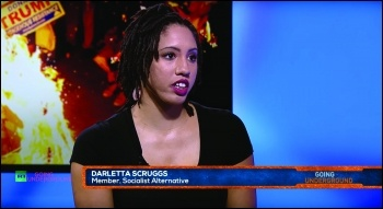 Darletta Scruggs on Russia Today