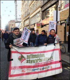 Crossrail protest 25.11.16