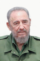 Fidel Castro, photo by Ag�ncia Brasil, Creative Commons