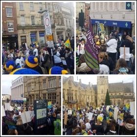 Durham TAs strike 24 November photo Durham TAs/Twitter
