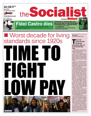 The Socialist issue 927