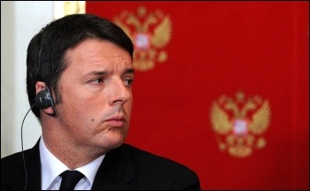 Outgoing Italian prime minister Matteo Renzi, photo by www.kremlin.ru (Creative Commons)