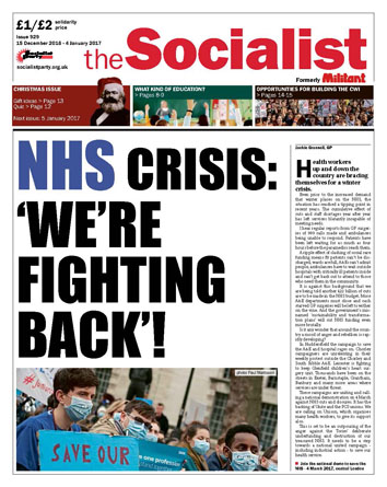 The Socialist issue 929