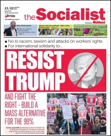 The Socialist frontpage issue 932