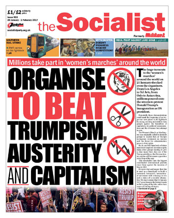 The Socialist issue 933