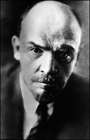 Vladimir Lenin, one of the central leaders of the 1917 Russian revolution, photo by German Federal Archive (Creative Commons)
