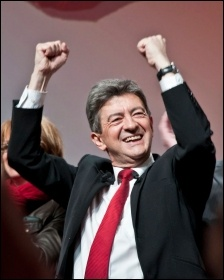 Left-wing presidential candidate Jean-Luc Melenchon photo Remi Noyon/Creative Commons