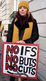 No cuts!, photo by JB