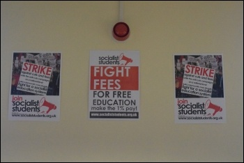Socialist Students conference 2017, photo Mary Finch