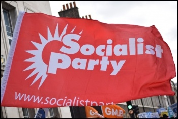 Join the Socialist Party, photo Mary Finch