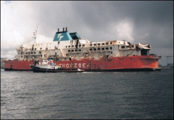 Bosses' profit-driven corner cutting lead to 193 deaths on the 'Herald of Free Enterprise' in 1987, photo by AirSafetyGuy (Creative Commons)