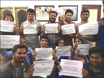IWD 2017 Chennai, India
