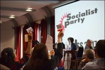 Socialist Party congress 2017, photo Mary Finch
