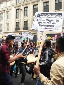 Anti-racism demo 18.3.17, photo Sarah Wrack