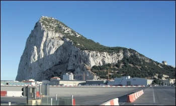 Tensions over Gibraltar show there is no cohesive approach to Brexit within the British or European ruling classes, photo by Richard Leonard (Creative Commons)