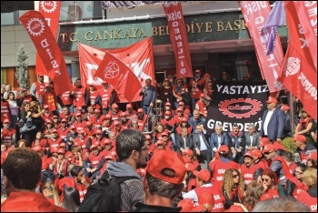 A united workers' movement is the only antidote to Erdogan's polarising poison, photo CWI
