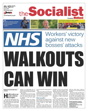 The Socialist issue 944